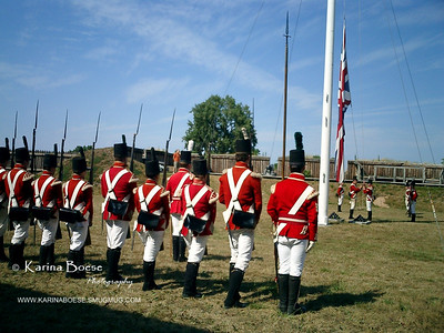 The Flag Hour Niagara on The Lake Fort, Canada