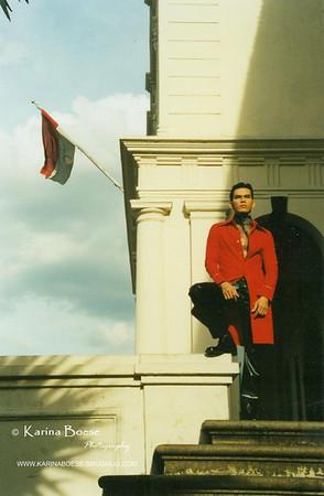Arik Jakarta, Indonesia Ilford, FM2.  1996.