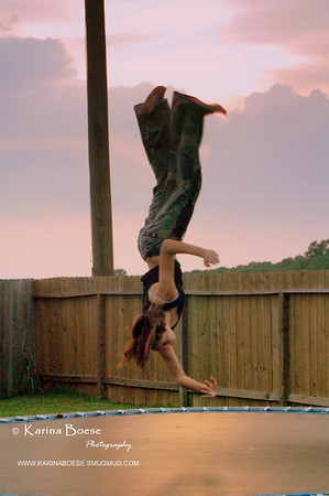 Miranda 180degrees flip. Houston, Texas August 2007