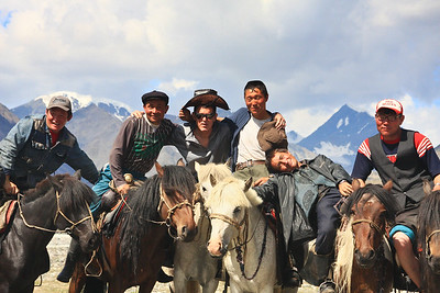 Mongolian Herders--our guides for 11 days across the Altai National Park in NW Mongolia