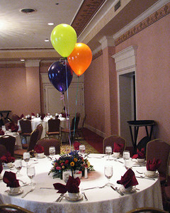 Ready for guests.  Isadore Millstone 100 th birthday, January 7, 2007