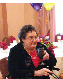 Beth Roman at Isadore Millstone 100 th birthday, January 7, 2007