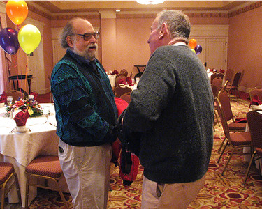 Ben Senturia, Jim Gollin at Isadore Millstone 100 th birthday, January 7, 2007