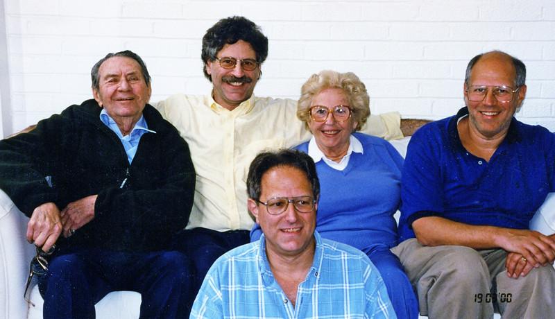 Mel Ruben Robert Adele Dick in 2000