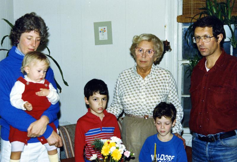 Sandra Sara Rose, Ben Adele, Matt, Robert
