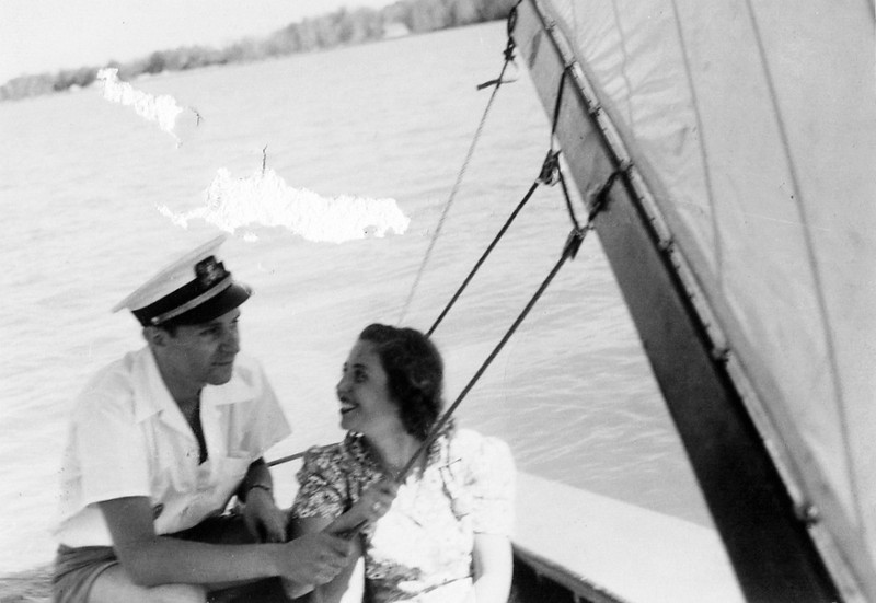Sailing in the 1940's