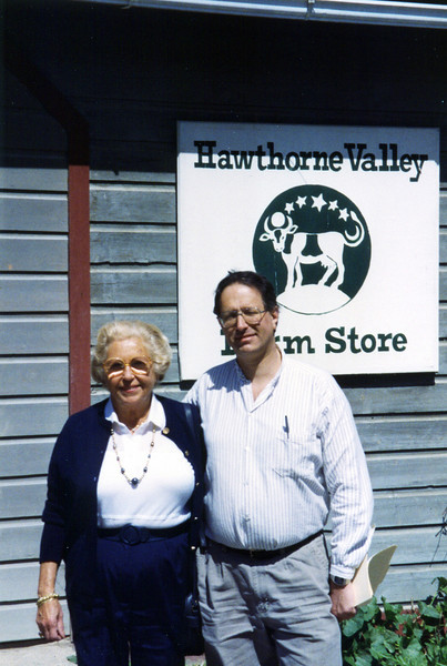 Adele and Robert at hawthorne Valley Farm Store