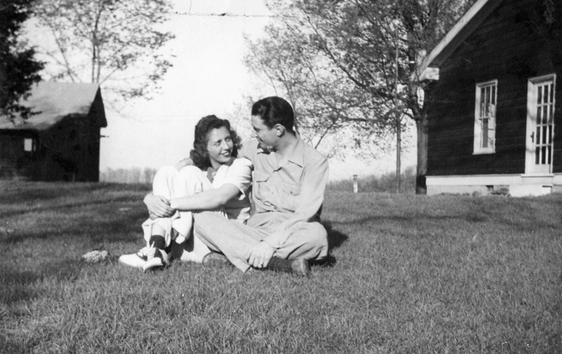 Mel and Adele around 1943
