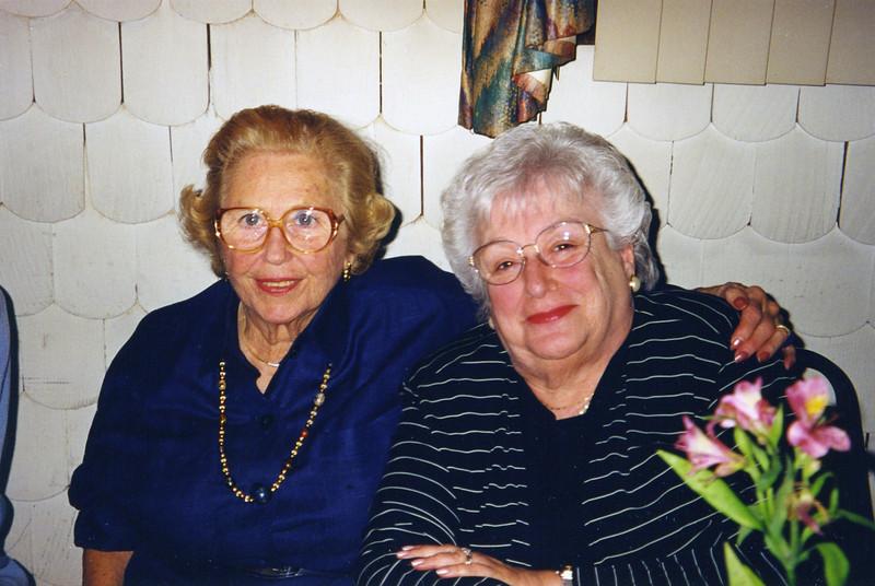 Adele and Dana Roman, 2000