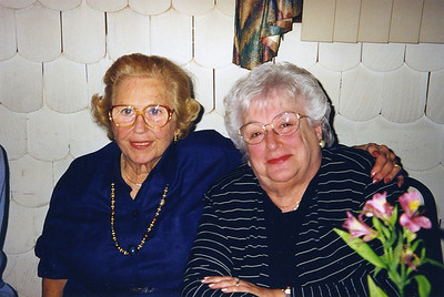 Adele and Dana Roman, 2000