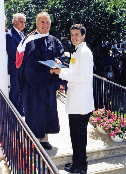 Matt graduates