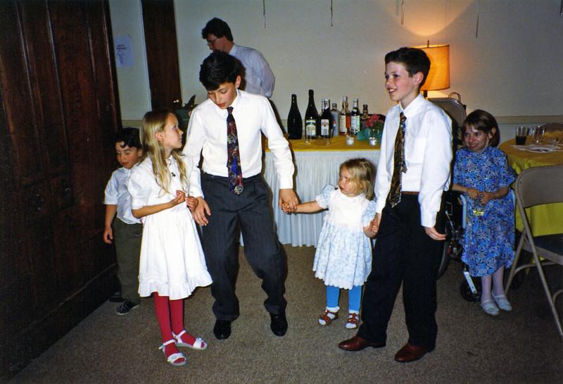 Matt Ben Sara Rose Cristina Roman