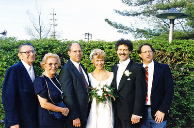 Ruben wedding 1995 Mel Adele Dick Birgit Ruben Robert