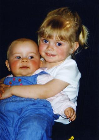Julie and Hannah, 1999