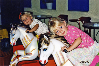Julie and Hannah 1996