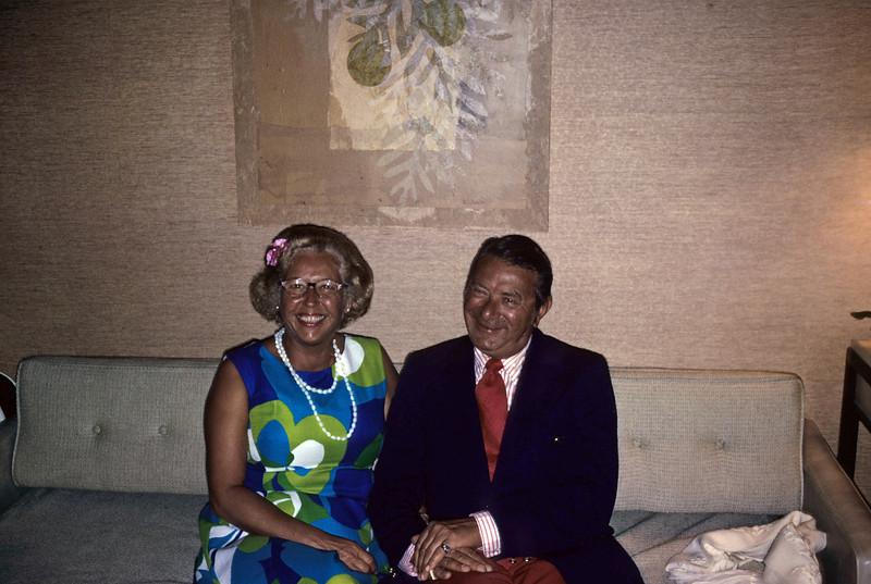 Hawaii, 1972 Mel and Adele