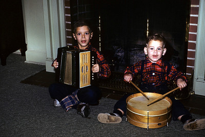 Robert and Ruben, 1955