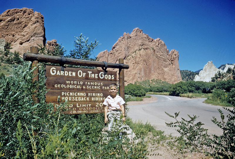 Ruben (age 6) at Garden of the Gods