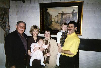 Sandy Birgit Hannah Gloria Julie and Ruben