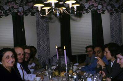 From left, Yetta Leo Mimi xx, Adele, Sylvia, Benny, Barbara, Gloria