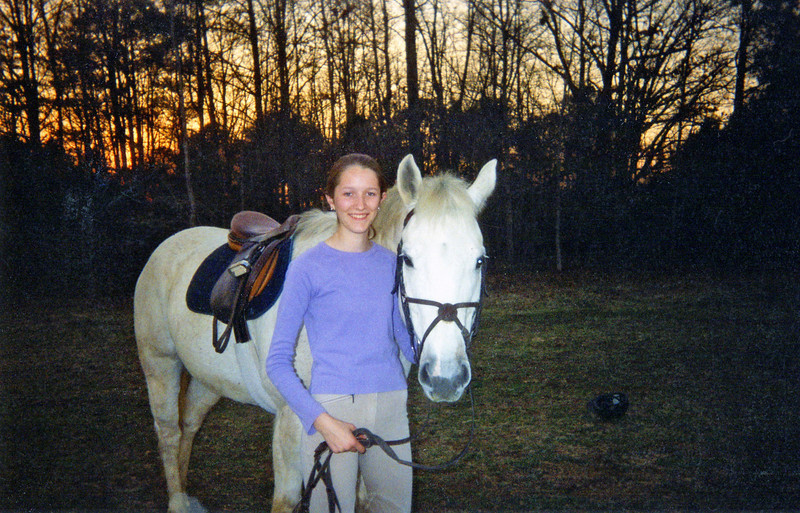 Sara Rose and horse  (horse on the right)