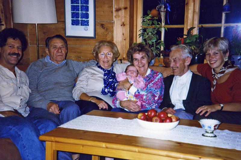 Ivar and Tora Ness with Julie, Mel, Adele