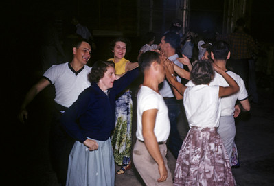 Square dancing was popular then and as we got older...at least with RBR