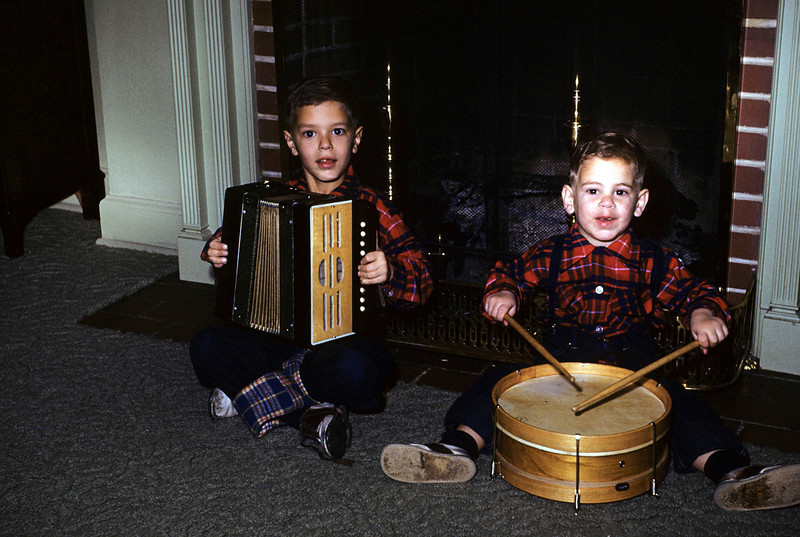 Robert and Ruben, 1955