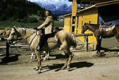 Adele on horse