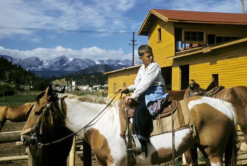 Robert on horse
