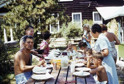Allenton Gillerman picnic Susie Jody