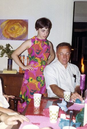 Sue Abuza Roman with father Henry