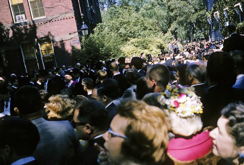 Harvard Cambridge 1965 graduation