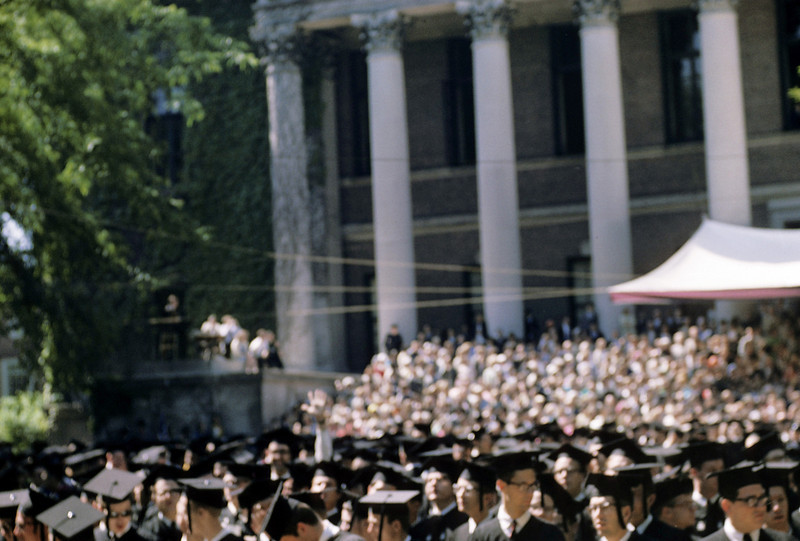 Harvard Cambridge 1965 graduation