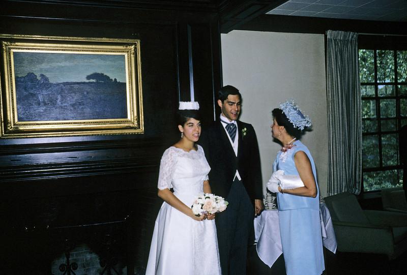 Hans von Friedrick Winterkorn III with Jackie Harvard Cambridge 1965 graduation