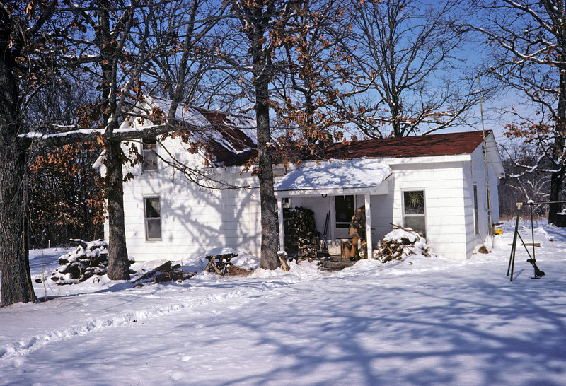SW Missouri home where RBR, Donna and then Ben lived. On Danny Bartkowski's 770 acre farm.