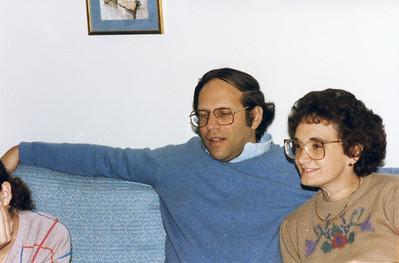 Hanukah 1985 all 3 Dick and Beth