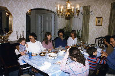 Hanukah 1985 all 3 sons
