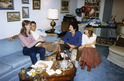 Hanukah 1985 all 3 sons Robert Ruben
