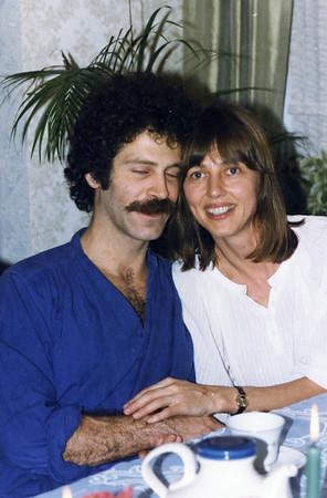 Hanukah 1985 all 3 sons Ruben Marit