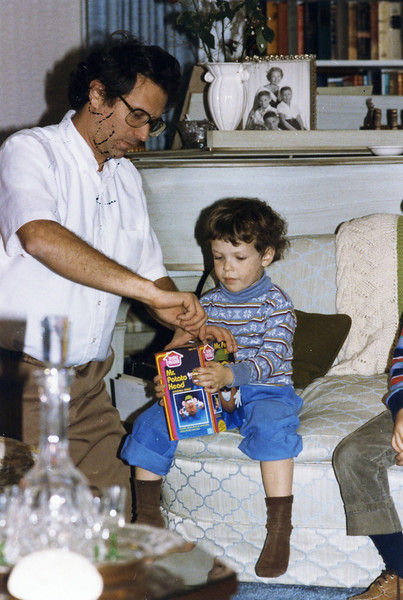Hanukah 1985 all 3 sons