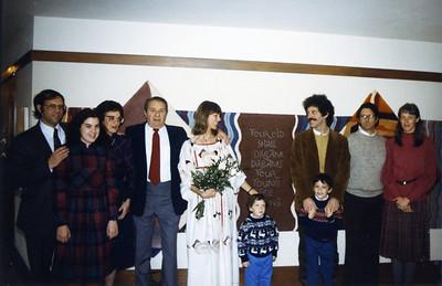 Dick Rachel Beth Mel Marit Matt Ruben Ben Robert