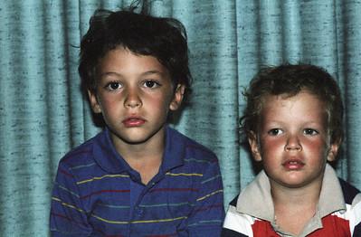 Ben and Matt portraits at 7411 Byron