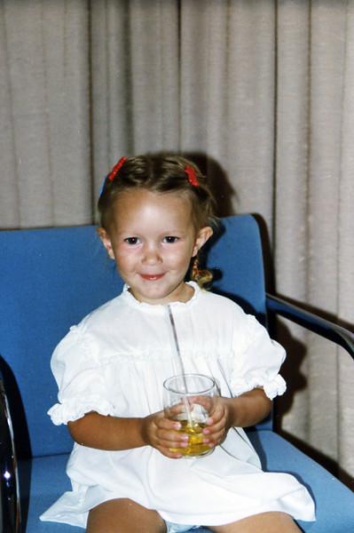 Sara Rose age 2