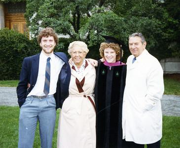 Adele Sheryl Spitzer Mel graduation