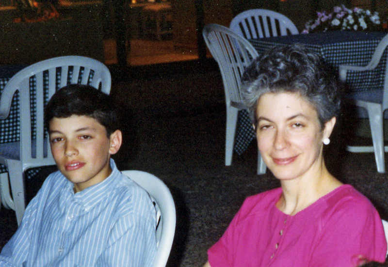 Donna Kirshbaum with Ben