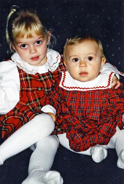 Julie and Hannah 2000