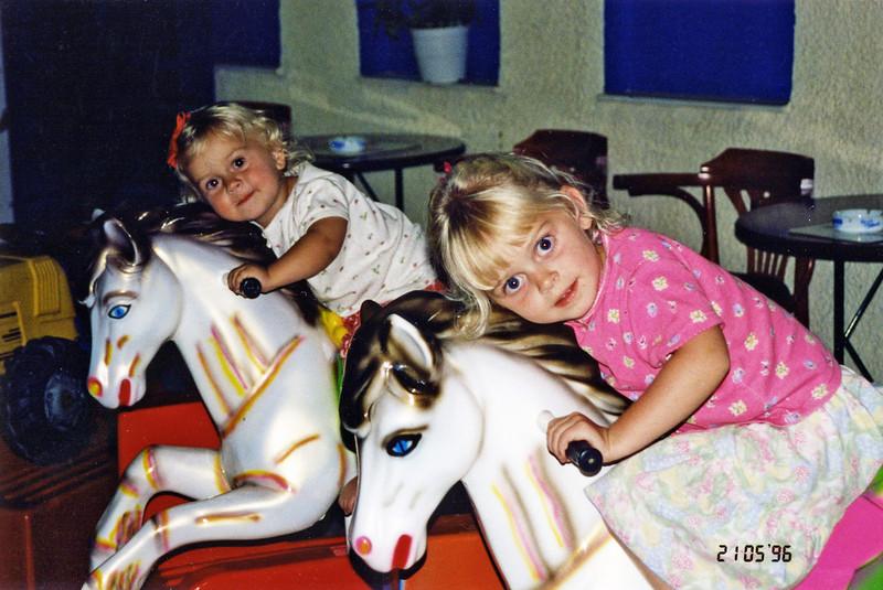 Julie and Hannah 1996