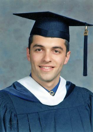 Ben graduates