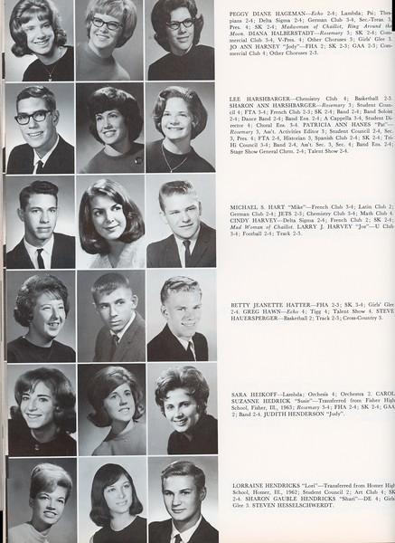 Sharon Harshbarger, Susie Hedrick, Pat Hanes